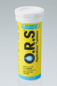 O.R.S 経口補水塩タブレット(レモン)12タブレット入り
